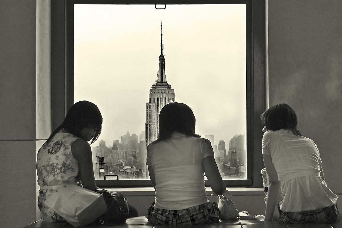 Gossip in the city...