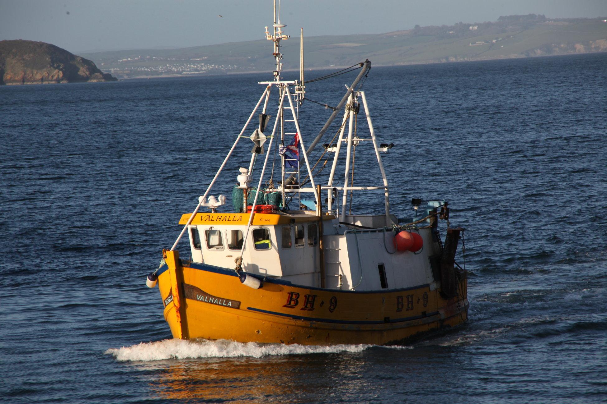 a trawler