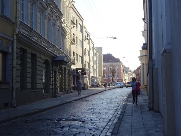 Street scene by Kabrielle