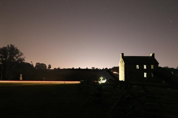 A Night on the Battlefield- Battle of Manassas park by Narvesen