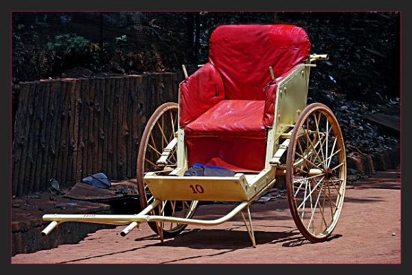 Eco friendly Rickshaw by prabhusinha