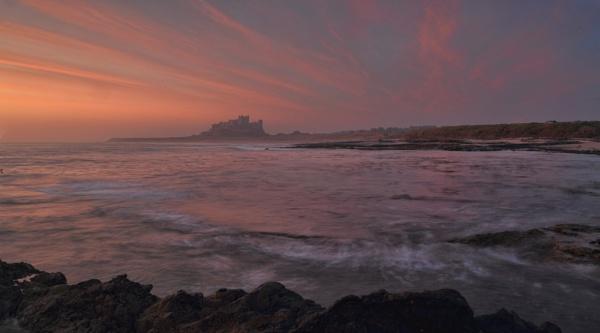 Bamburgh Sunrise by HenB