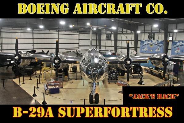 B-29A by f4fwildcat