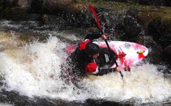 Kayaker by turniptowers