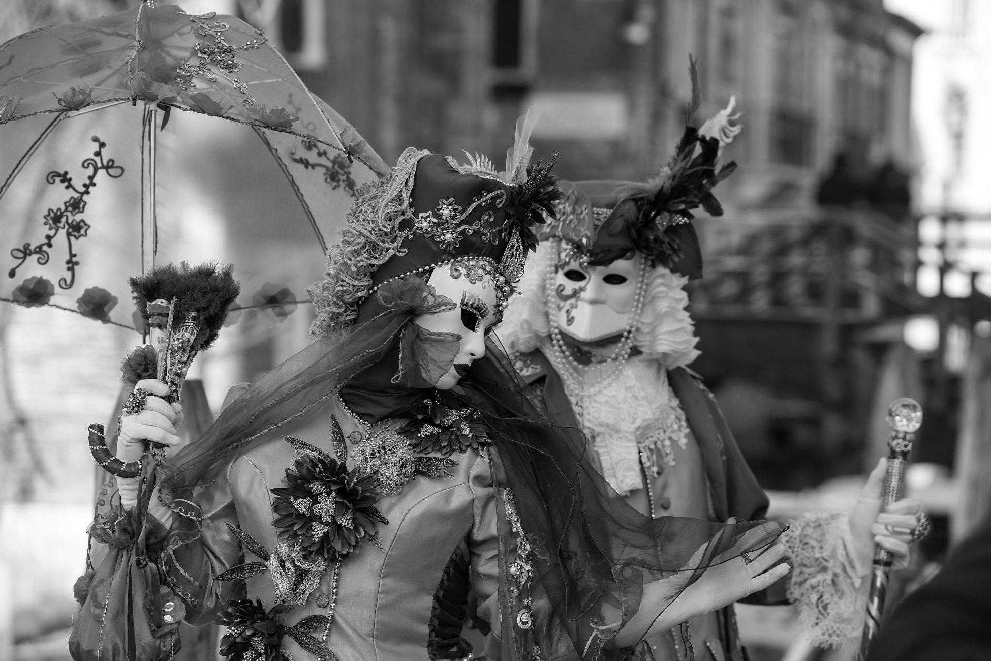 The fabulous colours of Venice Carnival