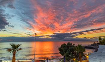 La Gomera Sunset December