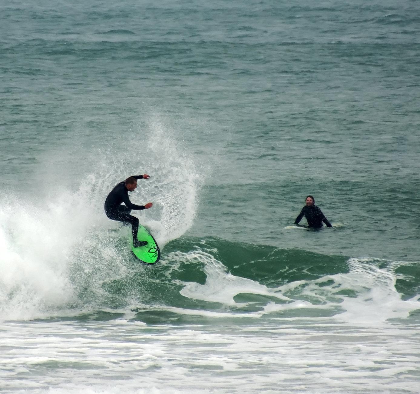 Bank holiday surf