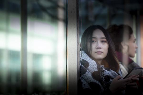 Bus stop window by revilo
