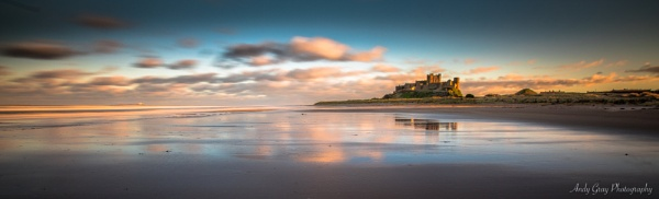 Bamburgh Castle by Legend147