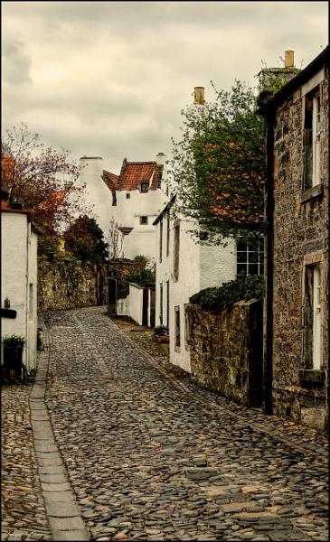 Cobbles In Culross.