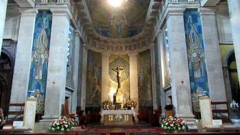 Vigo Cathedral. Spain