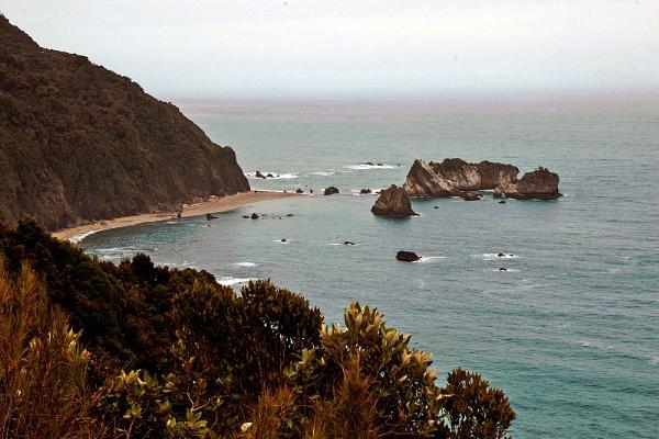 The Haast Coastal Highway NZ by Janetdinah