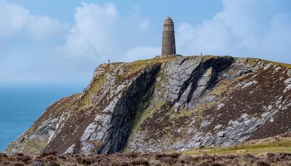 American Monument, Mull of Oa, Islay by lagomorphhunter