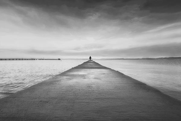 The long walk by Saastad
