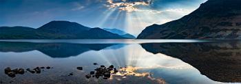 Daybreak at Ennerdale Water - full size