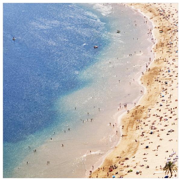 Playa Las Teresitas by bliba
