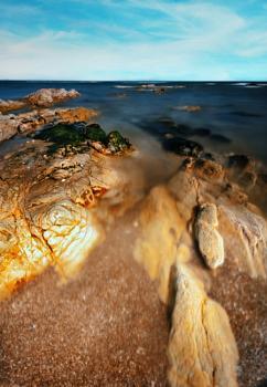 Rocks at Newbiggin-by-the-Sea
