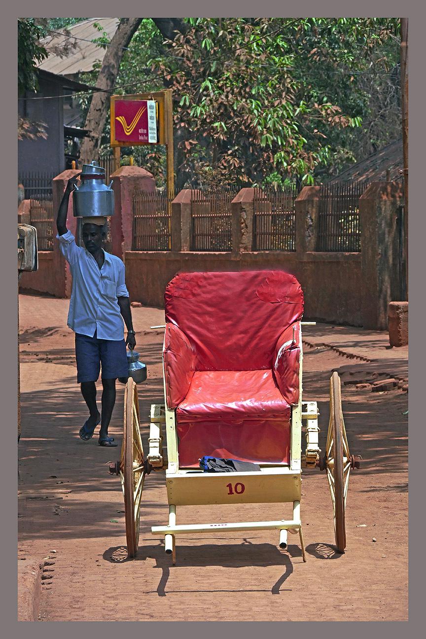 Rickshaw of Matheran