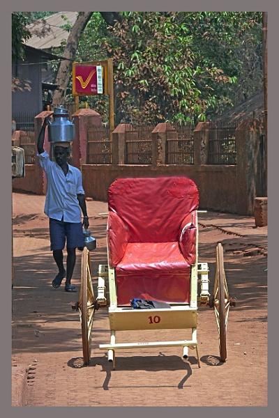 Rickshaw of Matheran by prabhusinha