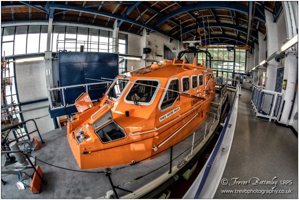 Tenby Lifeboat by TrevBatWCC