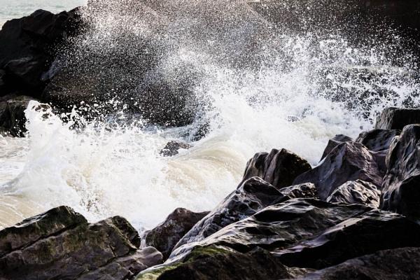 The Sea Rocks by JackAllTog