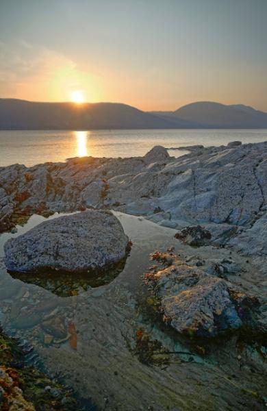 Loch Long Sunset by jenkins75