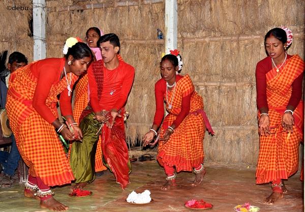 Tribal(Adivasi) Dance..2 by debu