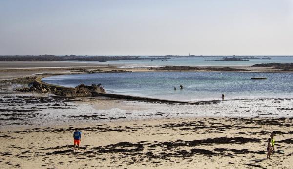 Beach in St Helier by Irishkate