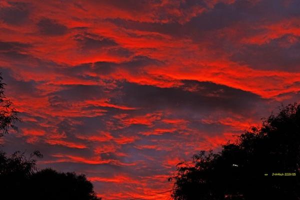 Autumn Sky-fire. by Jayar