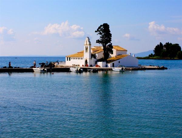 Church and Lake by ddolfelin