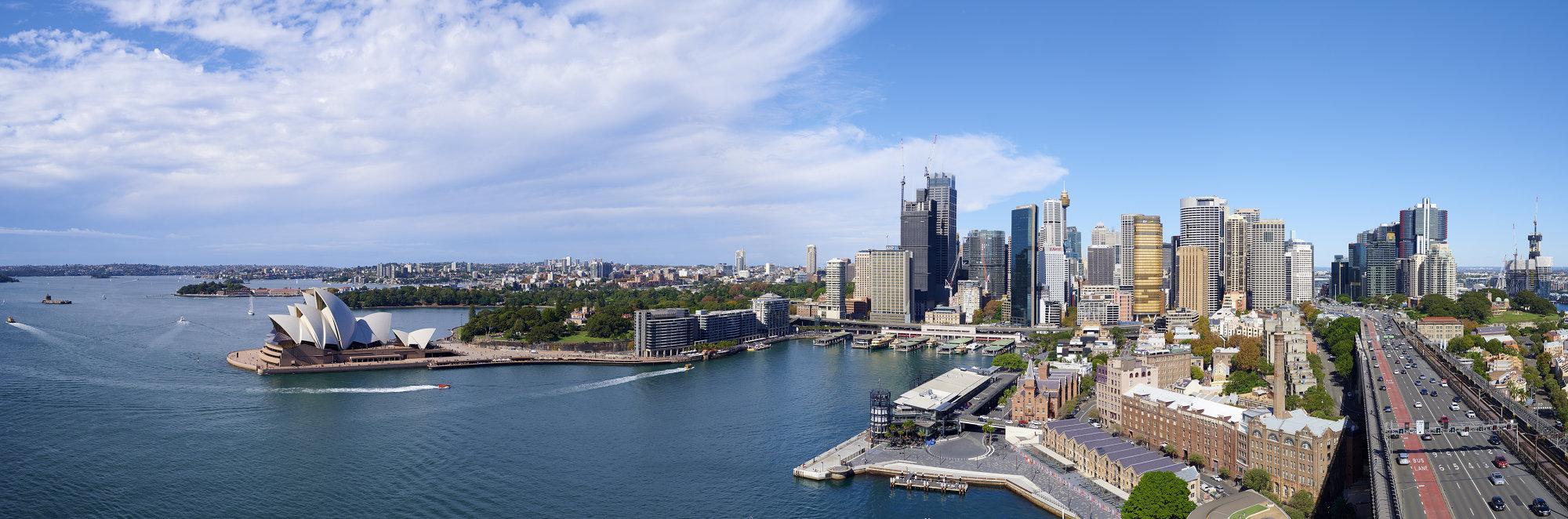 Sydney City Panorama