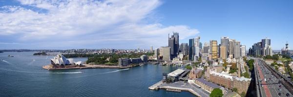 Sydney City Panorama by Lance_B