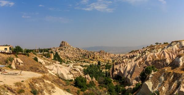 Panorama of hills by rninov