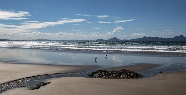 Orewa Beach by Janetdinah