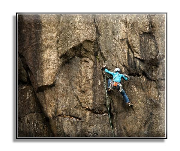 Rockface Climber by dven