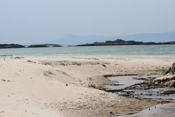 \'Local Hero\' Beach near Arisaig Scotland by topcatj