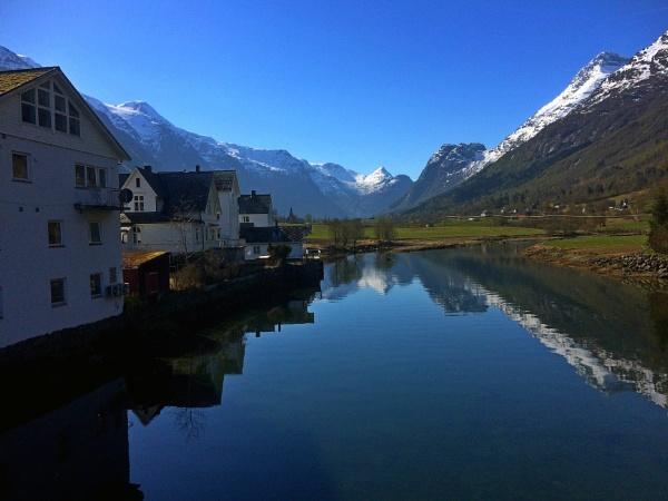 Olden, Nordfjord - Village Centre by miptog