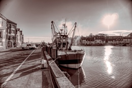 Weymouth Harbour - Old Feel