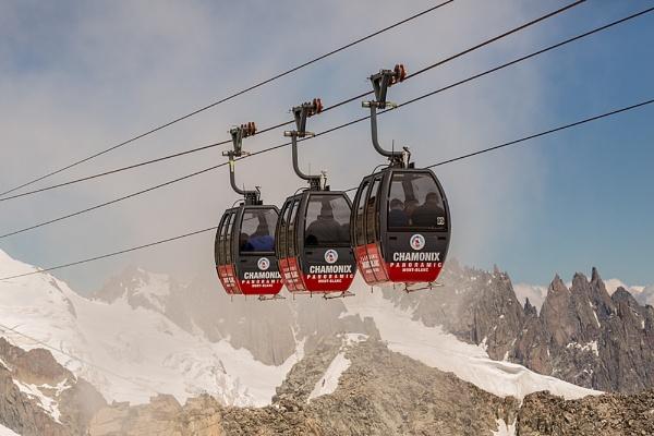 Mid air Chamonix by rontear