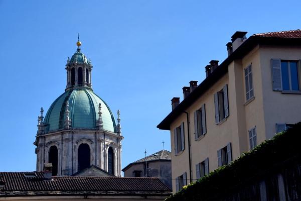 Rooftops Of Como by Robert51