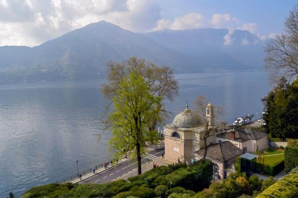 Lake Como From The Villa Carlotta by Robert51
