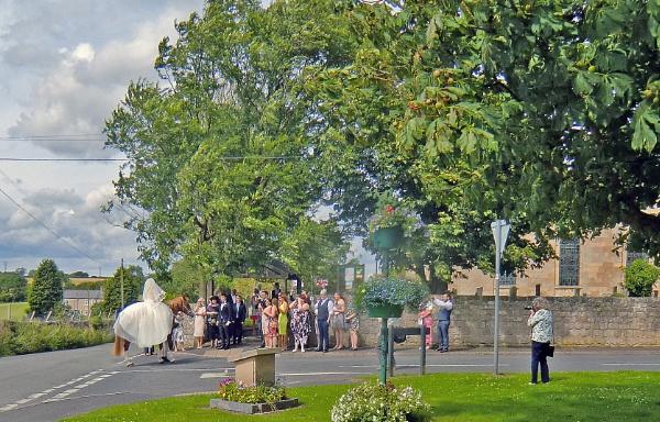 The Bride Arrives. by Gypsyman