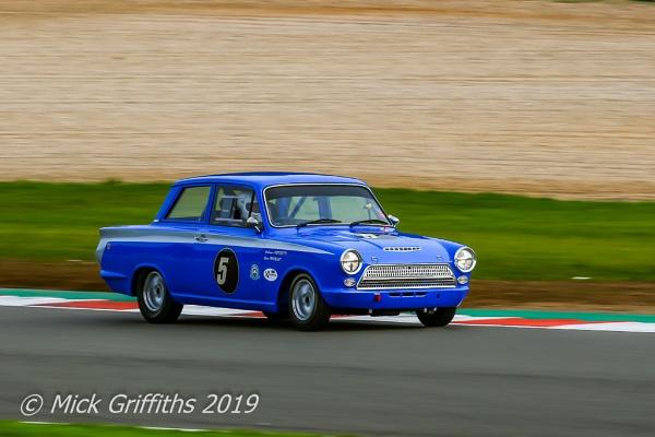 Historical Racing Ford Cortina by Bazzaspal