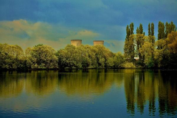 Stormy weather Charlton\'s Pond Billingham by georgiepoolie