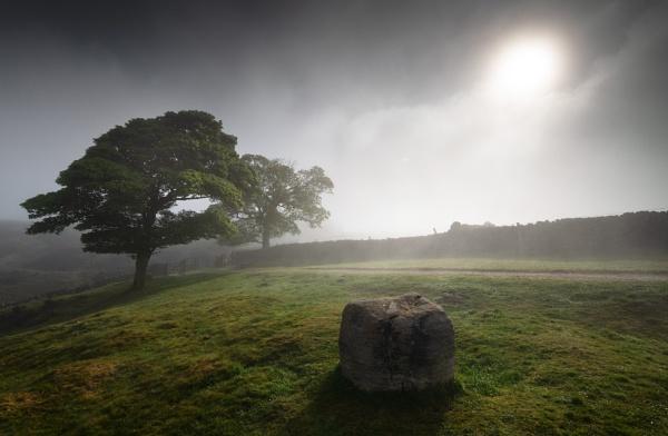 Curbar  Mist by Trevhas