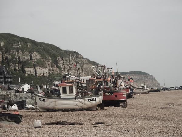 Hastings Beach 01 by AgeingDJ