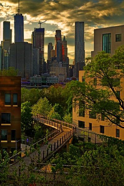 Sunset NYC by mtuyb