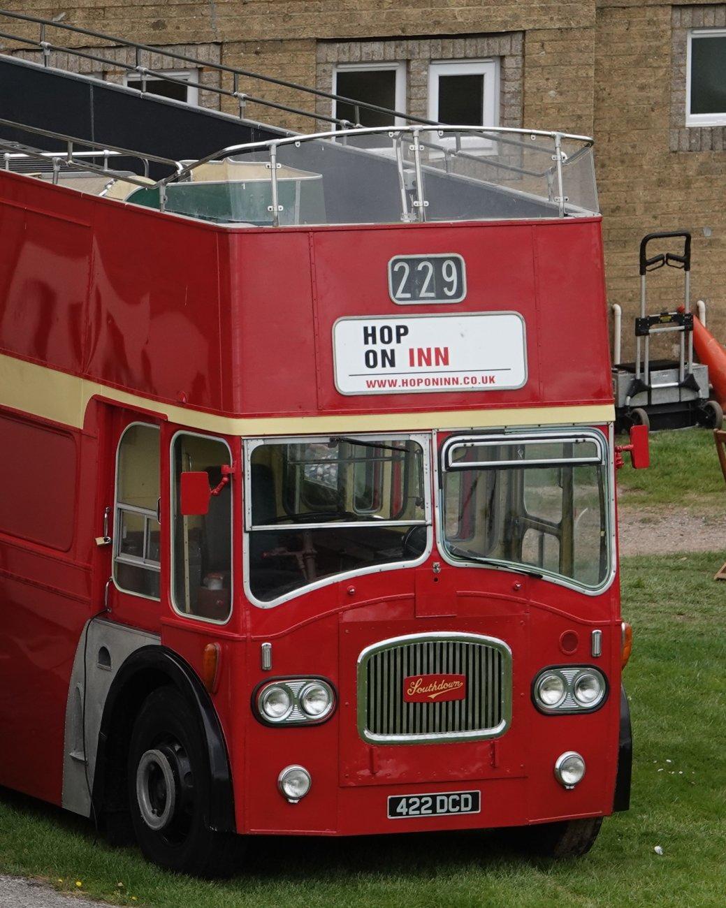 its a bar not a bus