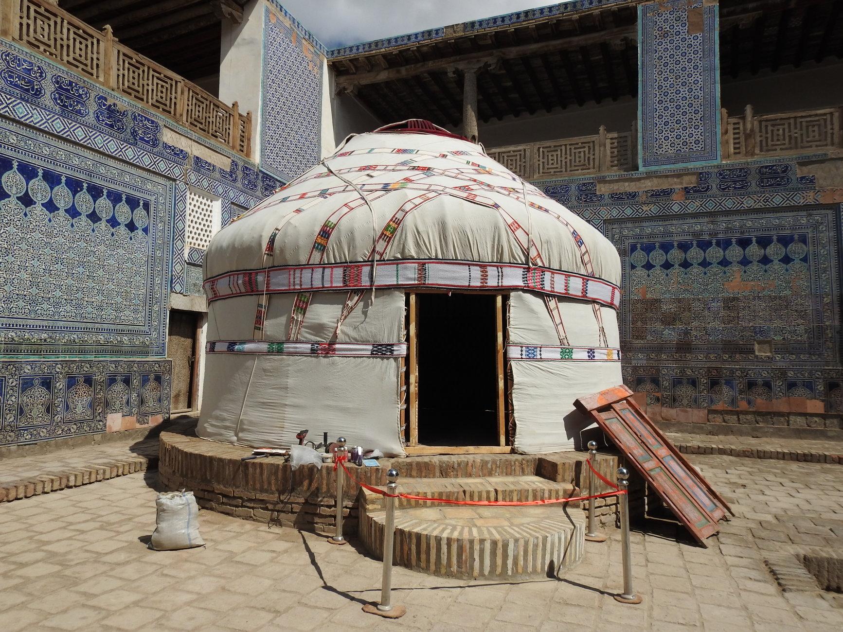 tipica Yurta dei nomadi