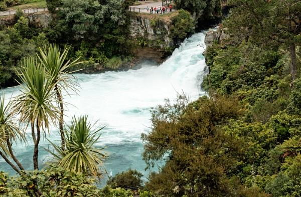 Huka Falls by Janetdinah